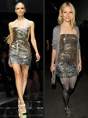 Gwyneth Paltrow by Versace