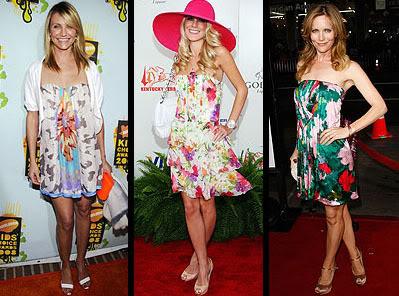 vestidos coloridos verão 2011